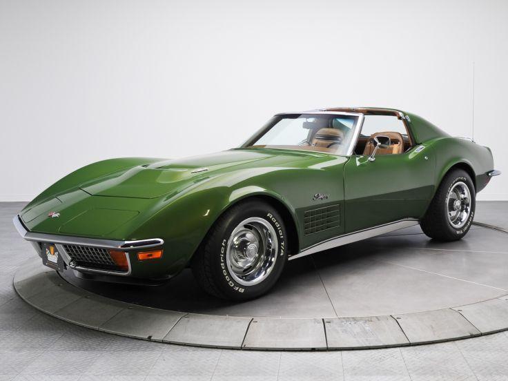 Cool Chevrolet 2017 1970 Corvette Stingray 454 C3 Supercar Muscle Classic Rq
