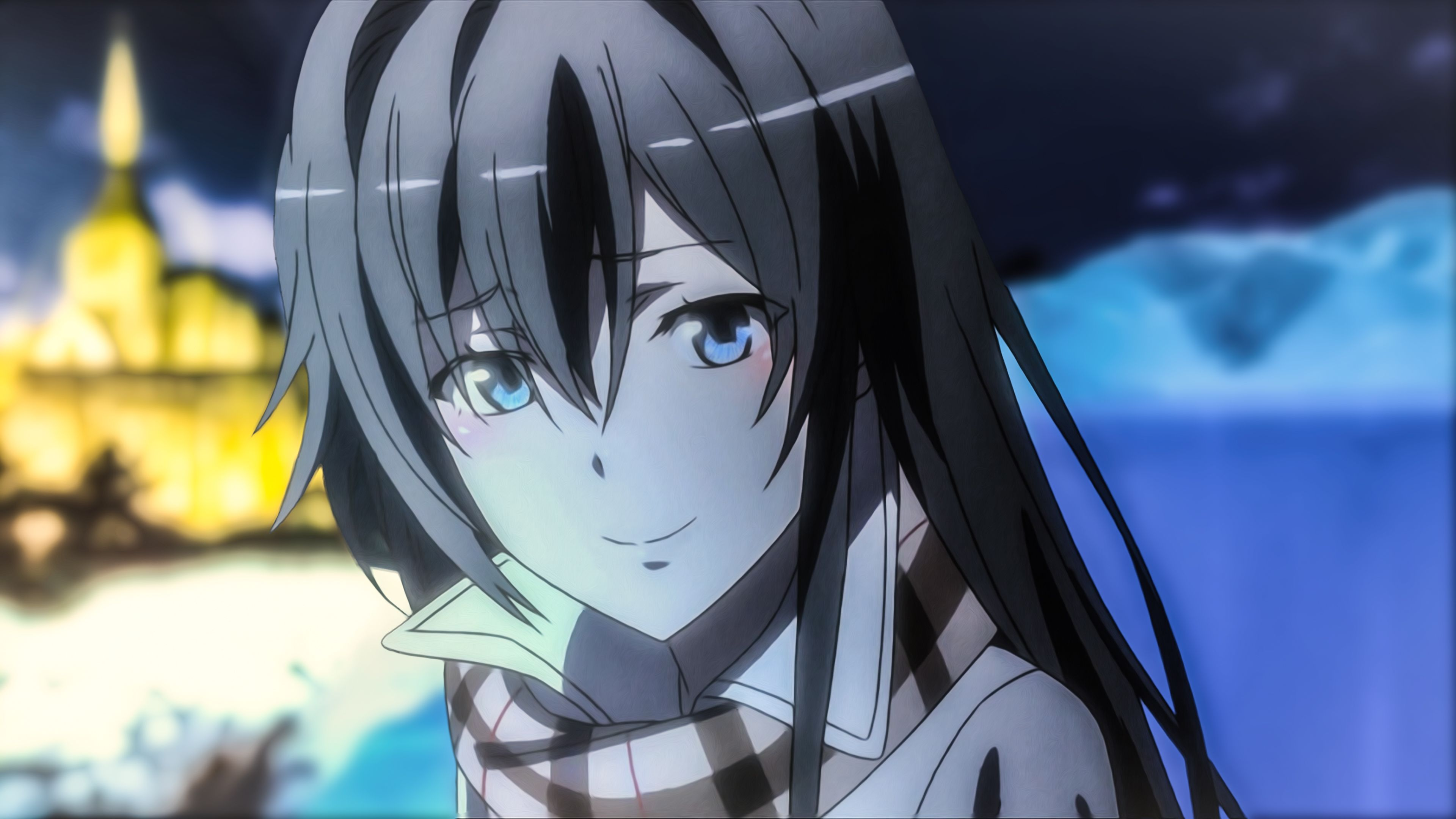 Love comedy Wallpaper : Yukino Yukinoshita UHD Wallpaper (Yahari Ore no Seishun Love comedy wa Machigatteiru. Zoku ...