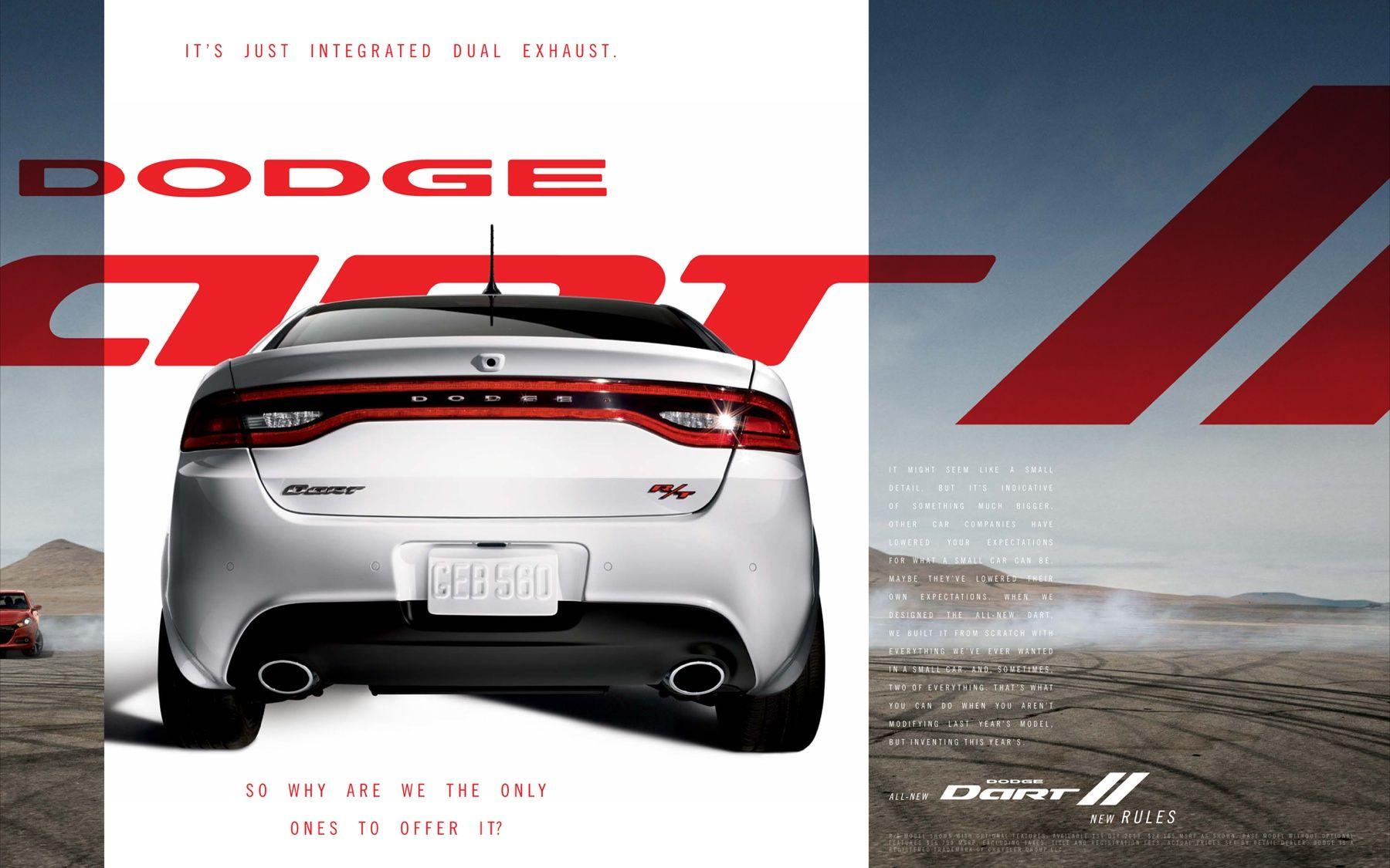 Dodge Dart White Dodge Dart
