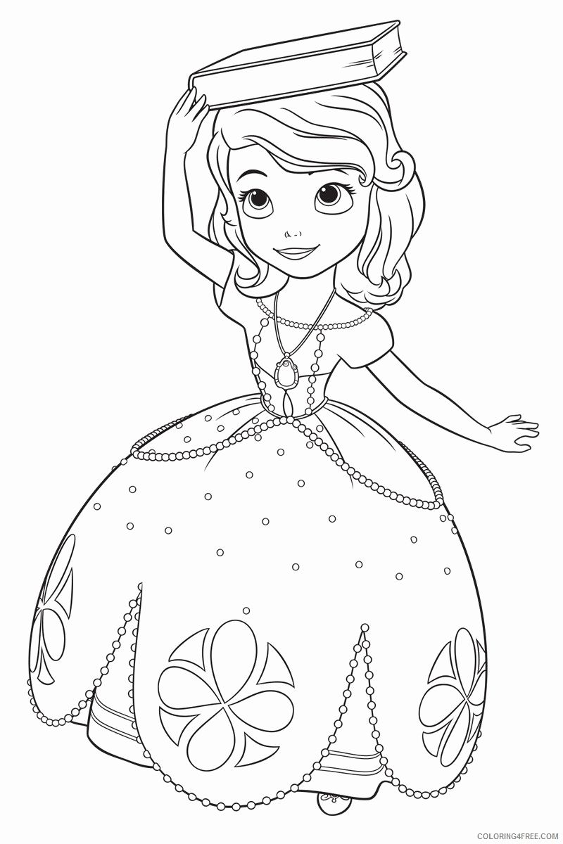 Sofia The First Mom Coloring Pages Fresh Sofia The First Coloring Pages For Girls Princess Coloring Pages Mermaid Coloring Pages Disney Princess Coloring Pages