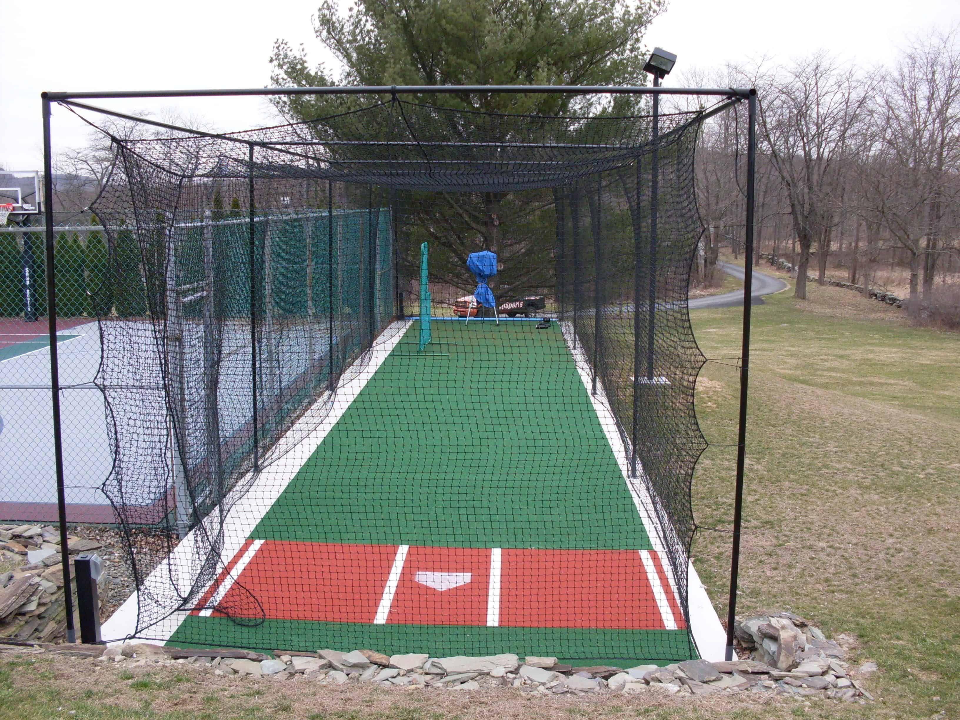 20 Smart Ideas How To Make Backyard Batting Cage Ideas Batting Cage Backyard Backyard Baseball Backyard Sports