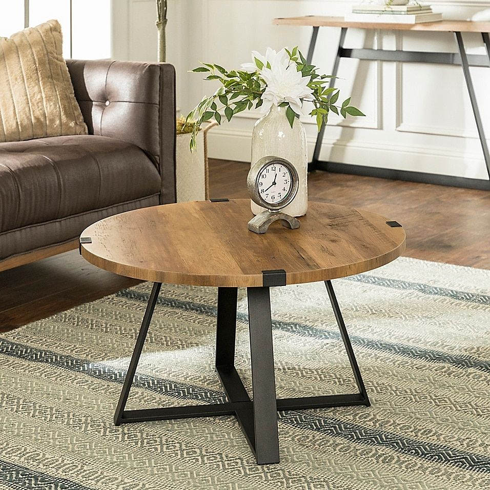 Now Available 40 Round Rustic X Brace Coffee Table Coffee Table Round Wood Coffee Table Coffee Table Wood [ 1450 x 1450 Pixel ]