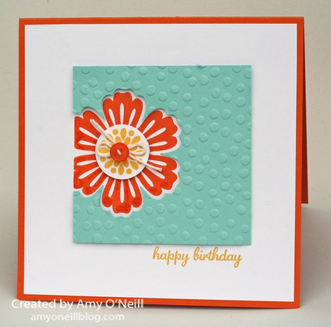 Card Making Ideas And Instructions Part - 46: Card Ideas · A Retro Sketch Challenge, With Instructions On Making,  Stamping And Punching The Layers.