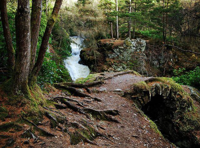 Falls of Bruar Scotland