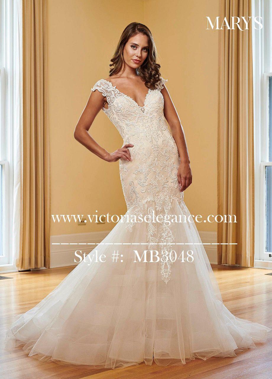 Mary S Mermaid Wedding Gown Lace Applique V Neckline Victoria S Elegance Quinceanera Bridal Wedding Gowns Mermaid Lace Wedding Gowns Mermaid Dresses [ 1280 x 920 Pixel ]