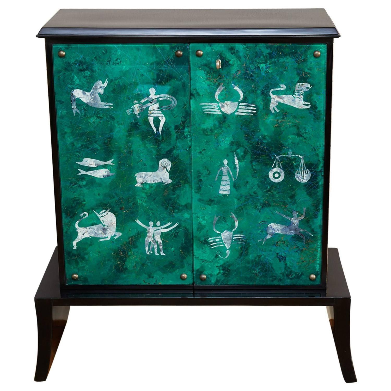 Fontana Arte, Bar Cabinet, by Dube, Italy, circa 1950 | Furniture ...