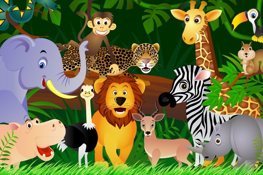 jungle animals background 1 hd wallpapers my style in 2018