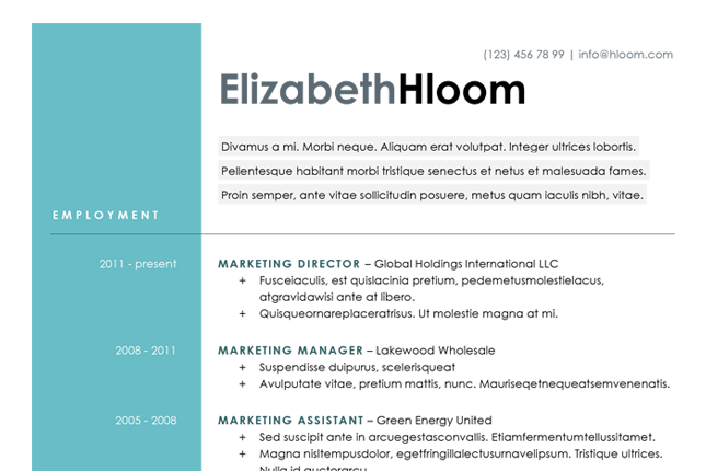 10 Design Savvy Sites That Will Redesign Your Resume For You Via. Attention- Grabbing ...