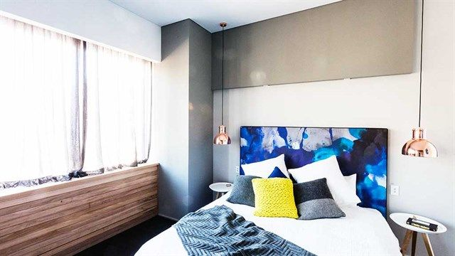 The Block Master Bedroom 2014 the judges were awedthe colours and space in shannon and