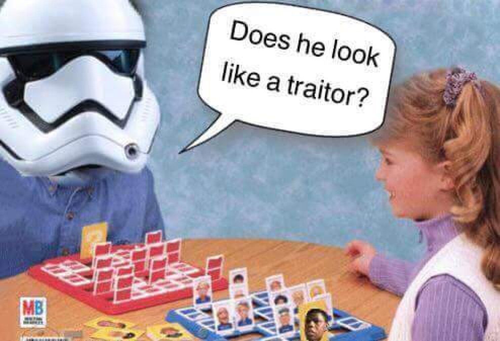 The 15 Best Traitor Stormtrooper Memes In The Galaxy Spoilers Star Wars Humor Star Wars 7 Star Wars Memes