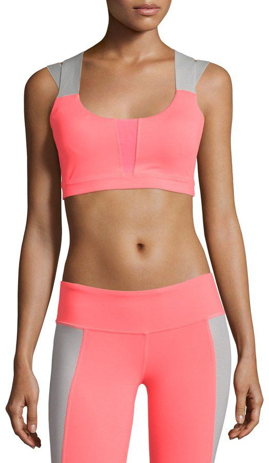 cb3514dcc3d73 Pin for Later  Pretty Longline Sports Bras For Every Budget  25  Alo Yoga  Jetty Crisscross Sports Bra Alo Yoga Jetty Crisscross Sports Bra ( 25