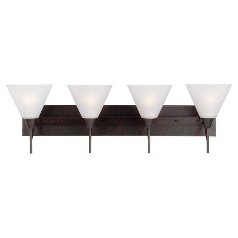 Sea Gull Lighting Ashburne 4411204 4-Light Wall / Bath Light - 4411204-710