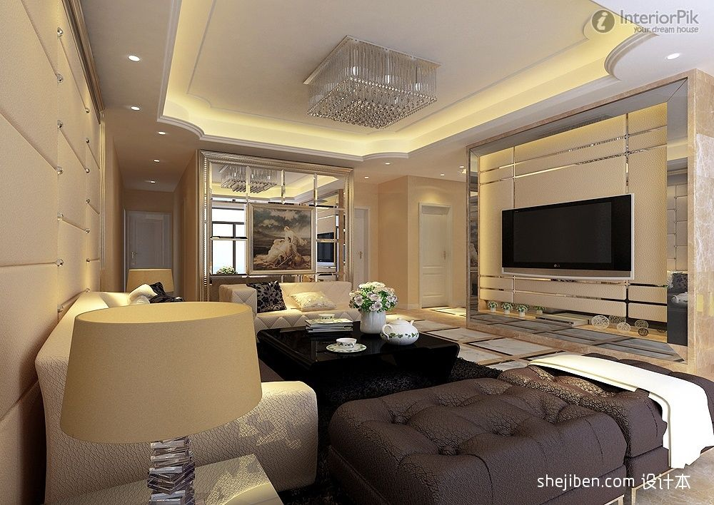 simple tv panel design for living room - Google Search | Living room ...