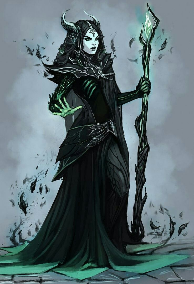 Fureas: A twisted necromancer who learned the art to destroy those who were  cruel to her. Though insane, she can be reasoned with. Greedy.