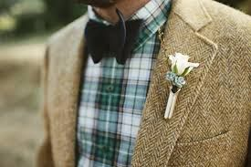 casual plaid groom - Google Search (more my style than Jeff's)