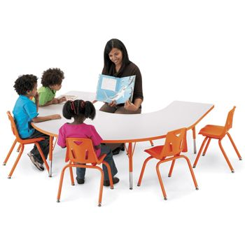 Jonti Craft® RidgeLine™ KYDZ Activity Tables ~ Choose From Several Fun  Colors And