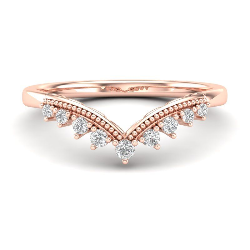 Round Rings for Women Thin Rose Gold Color Twist Rope Stacking Engagement Wedding Rings,8,Gold-Color