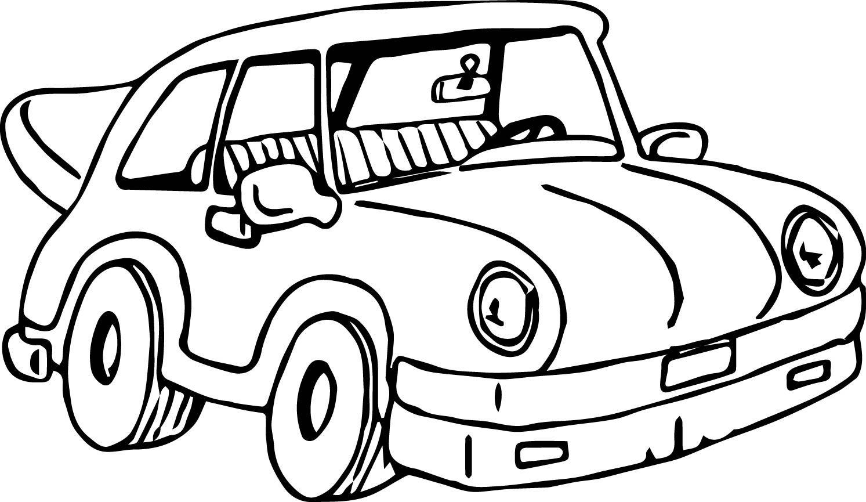 Araba Boyama Sayfaları Boyama Kitabı Character Fictional