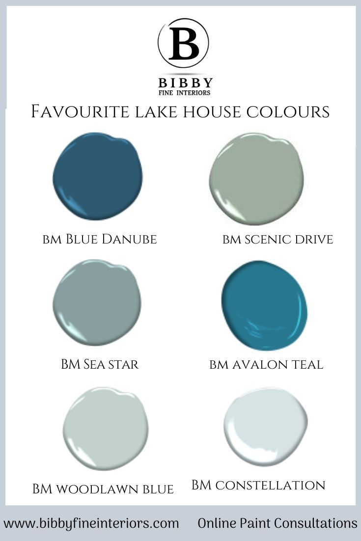 favourite lake house colours in 2020 benjamin moore on lake house interior color schemes id=80959
