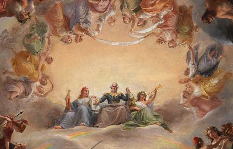 Study for the Apotheosis of Washington in the Rotunda of the ...