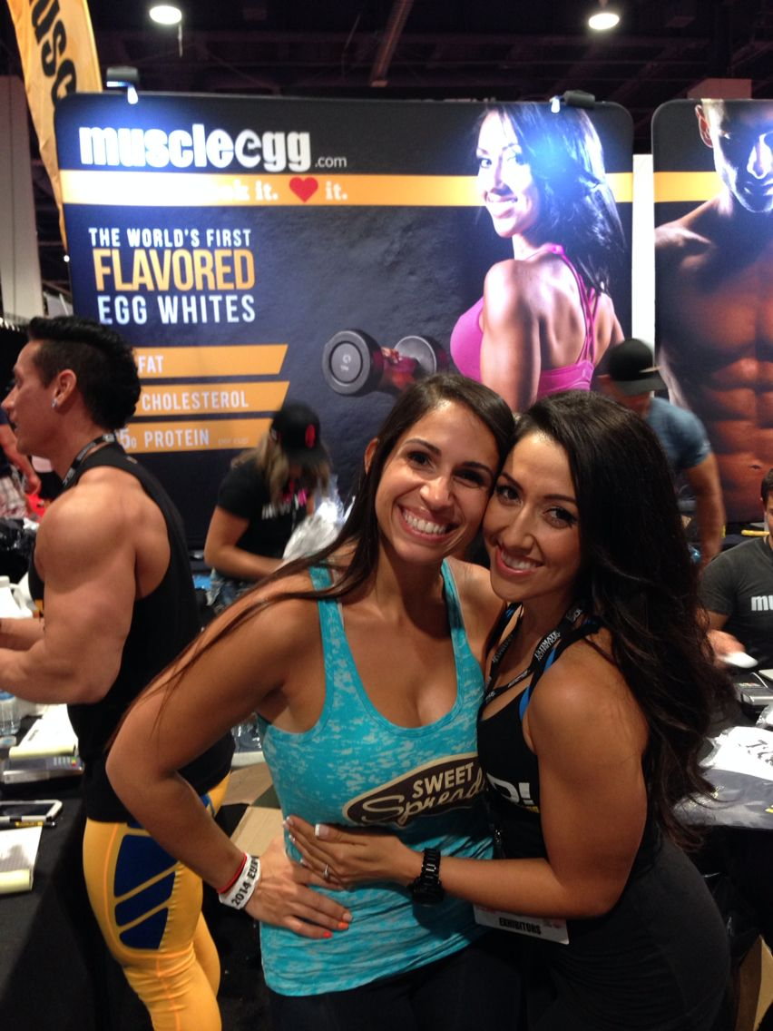 #coconutter @sweetspreads #50tholympia #mrolympia2014 #sweetspreadscoconutter #muscleegg #tiffanyboydston