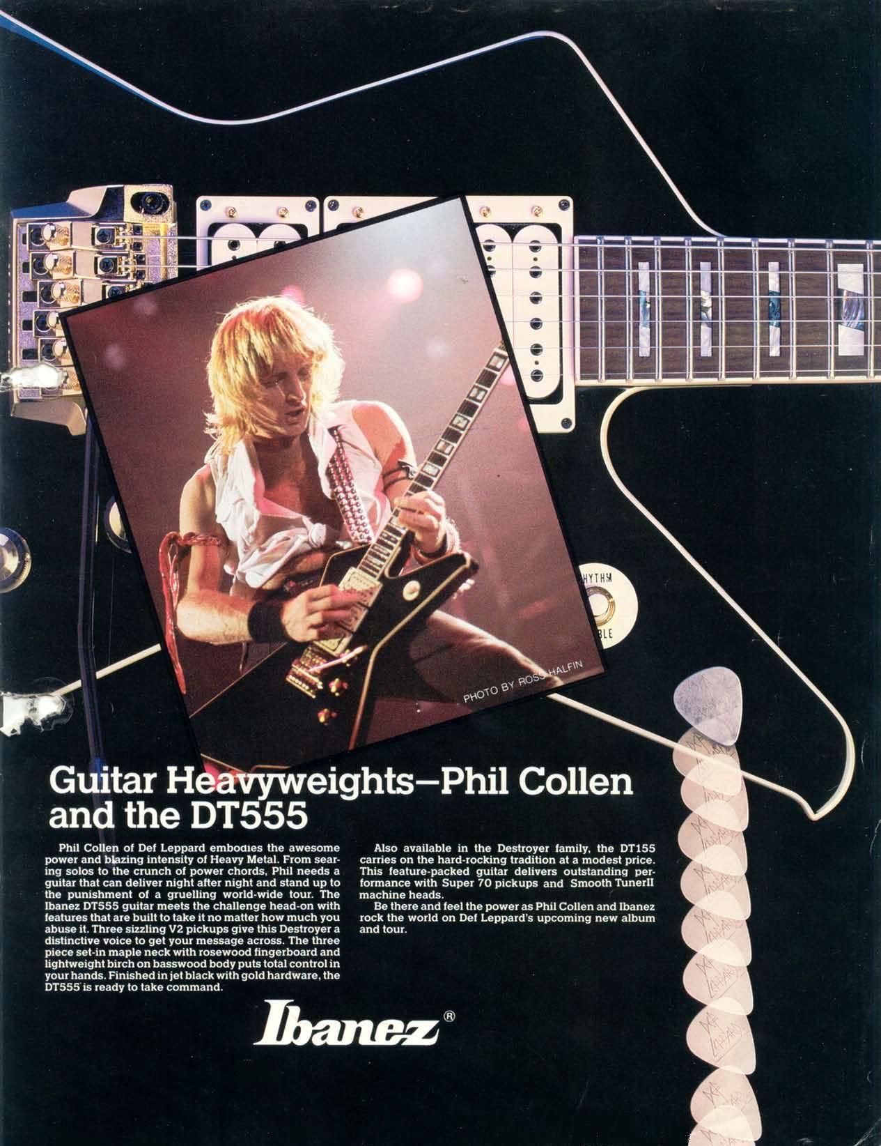 Phil Collen Ibanez Destroyer