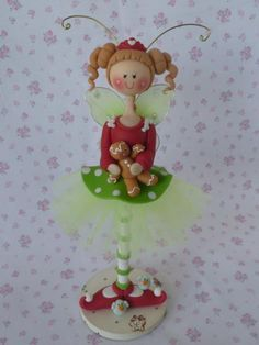doll in cold porcelain