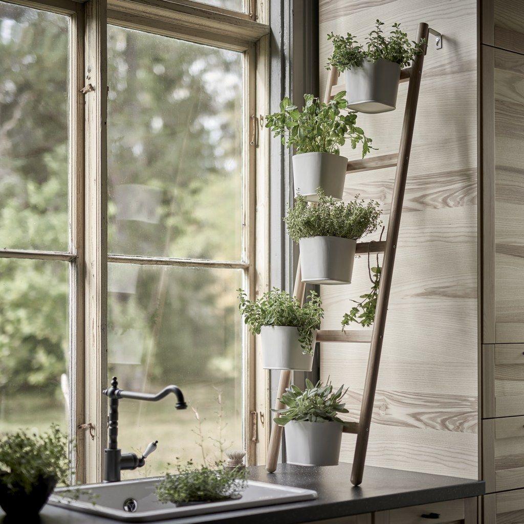 bring your herb garden inside in 2020 herbs garden on indoor herb garden diy apartments living walls id=63070