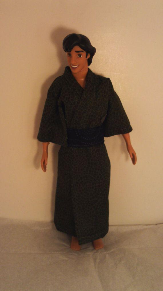 Yukata For Ken & Disney Prince Dolls Man's by CathleensCraftiness