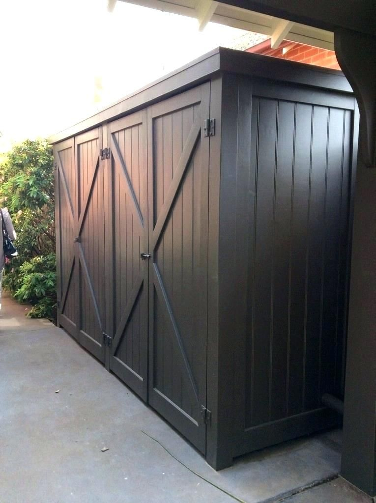 Outdoor Storage Ideas Side Yard Storage Ideas Carports