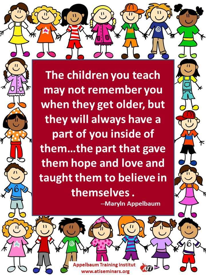 believe I love to teach, I teach to love! Kindergarten