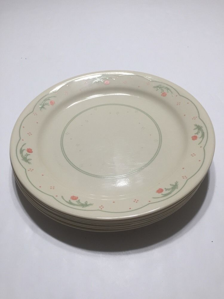 Corning Ware Corelle Retired Calico Rose Pattern 40 Plate Adorable Corningware Dishes Patterns