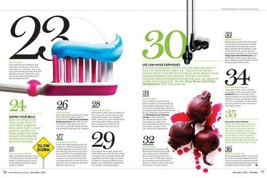 MagSpreads Magazine Design and Editorial Inspiration: Australian Prevention Magazine