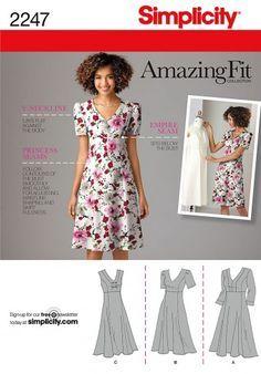 patroon jurk prinsessenlijn