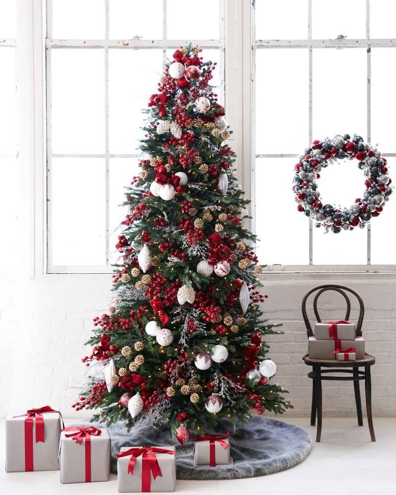 Norway Spruce Narrow Artificial Christmas Tree | Balsam Hill