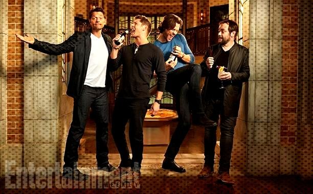 Supernatural su Entertainment Weekly con 4 divertenti Foto : Supernatural su Entertainment Weekly c