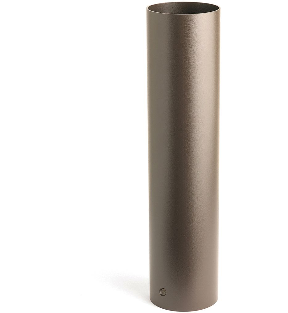 Kichler - 15665AZT - Textured Architectural Bronze 18 Inch Bollard Kit