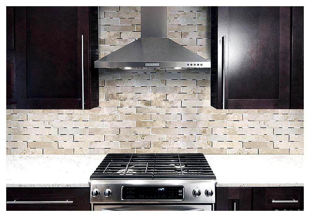 awesome  30+ Best Kitchen Backsplash With Dark Cabinets 2016 , Quick Tips Of Creating Kitchen Backsplash With Dark Cabinets We know that cabinets are not the focal point of a kitchen. But a kitchen backsplash wit..., http://www.designbabylon-interiors.com/30-kitchen-backsplash-dark-cabinets-popular-2016/ Check more at http://www.designbabylon-interiors.com/30-kitchen-backsplash-dark-cabinets-popular-2016/