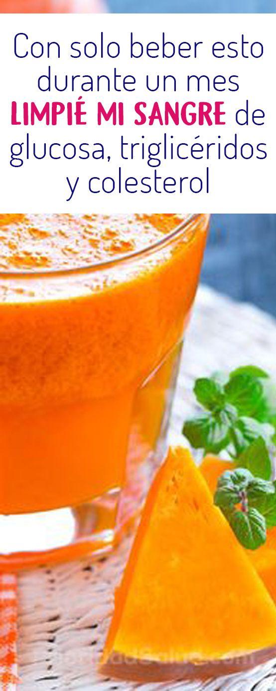 Regula Los Niveles De Azucar En La Sangre Colesterol Trigleceridos La Glucosa Controla El Colesterol Alto Con Este Food Cures Healthy Drinks Natural Drinks