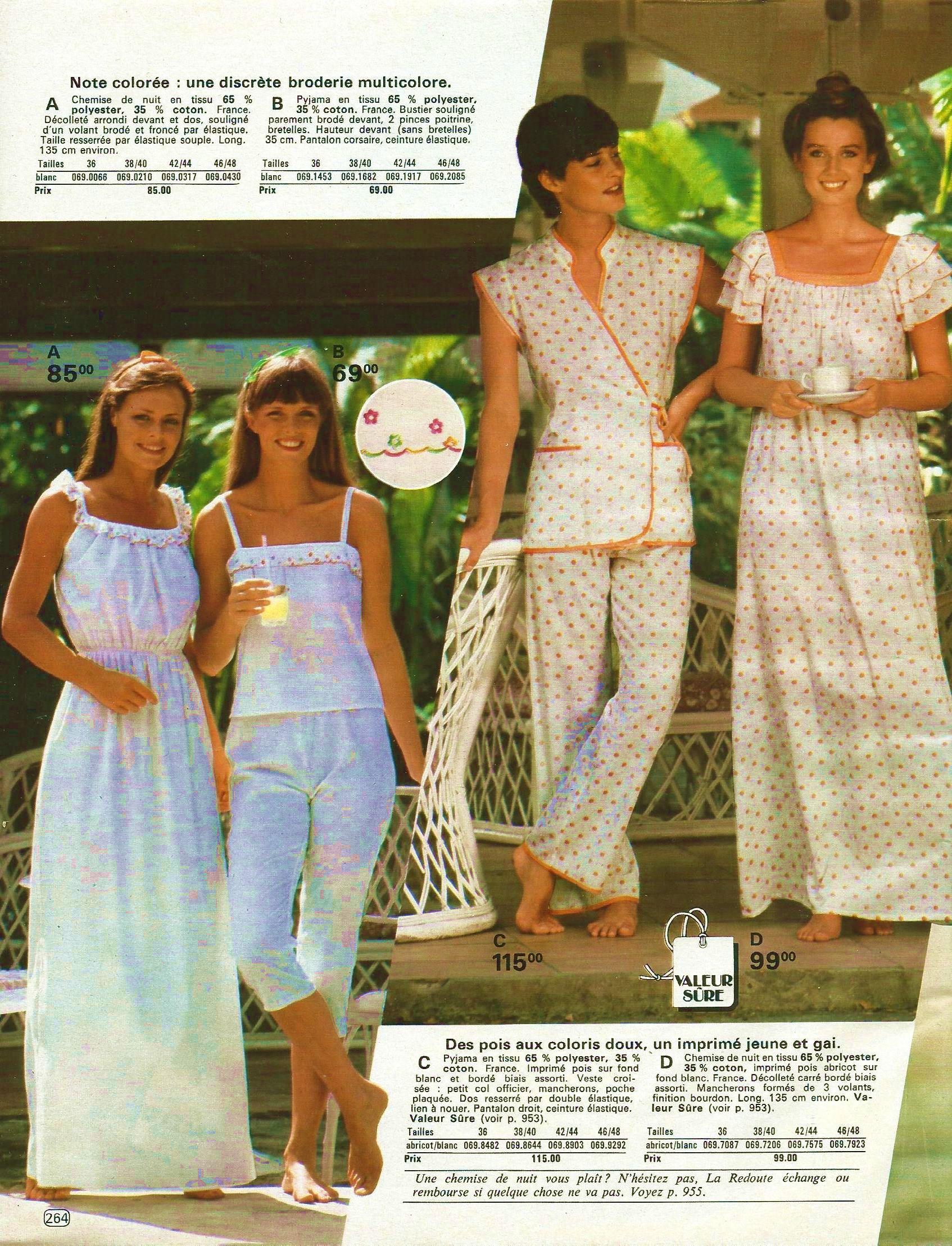 Catalogue La Redoute printemps/été 1981