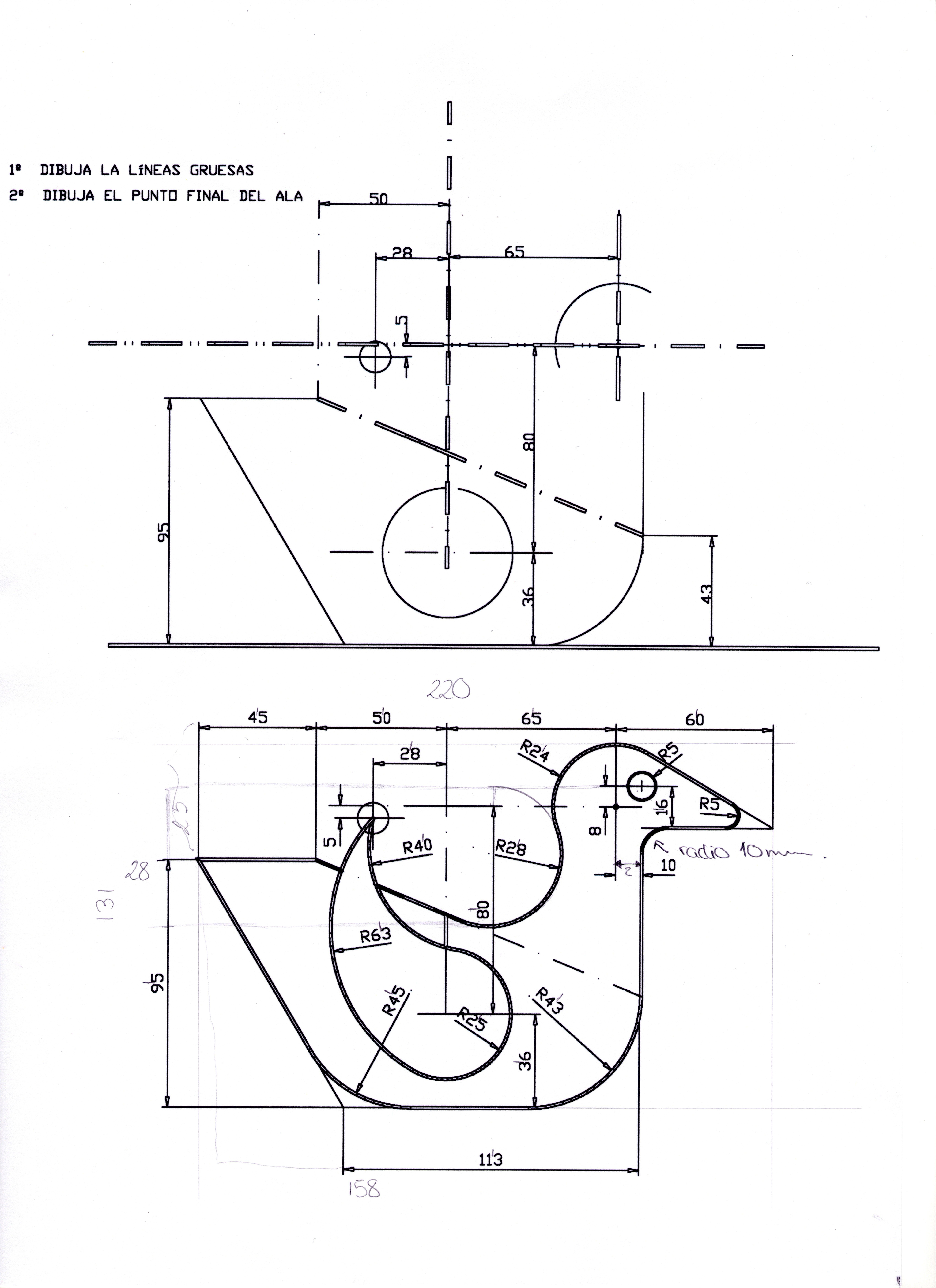 Pato Tangencias Tecnicas De Dibujo Dibujo Geometrico Patos Dibujos