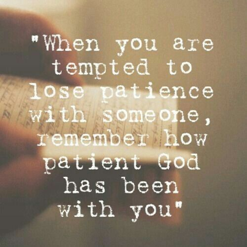 Be Patient God Will Bless You For That Planting The Seed Of Faith