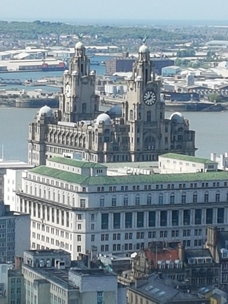 View From Radio City Tower Liverpool Radio City New York Skyline Liverpool