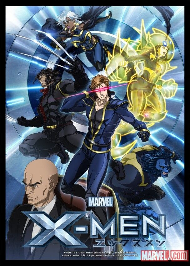 Marvel Anime X Men Anime X Men Anime Episodes