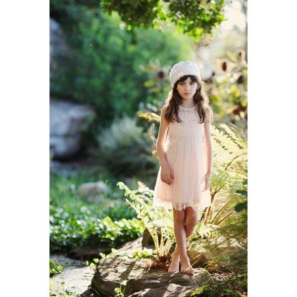 Airy Rhinestone Dress