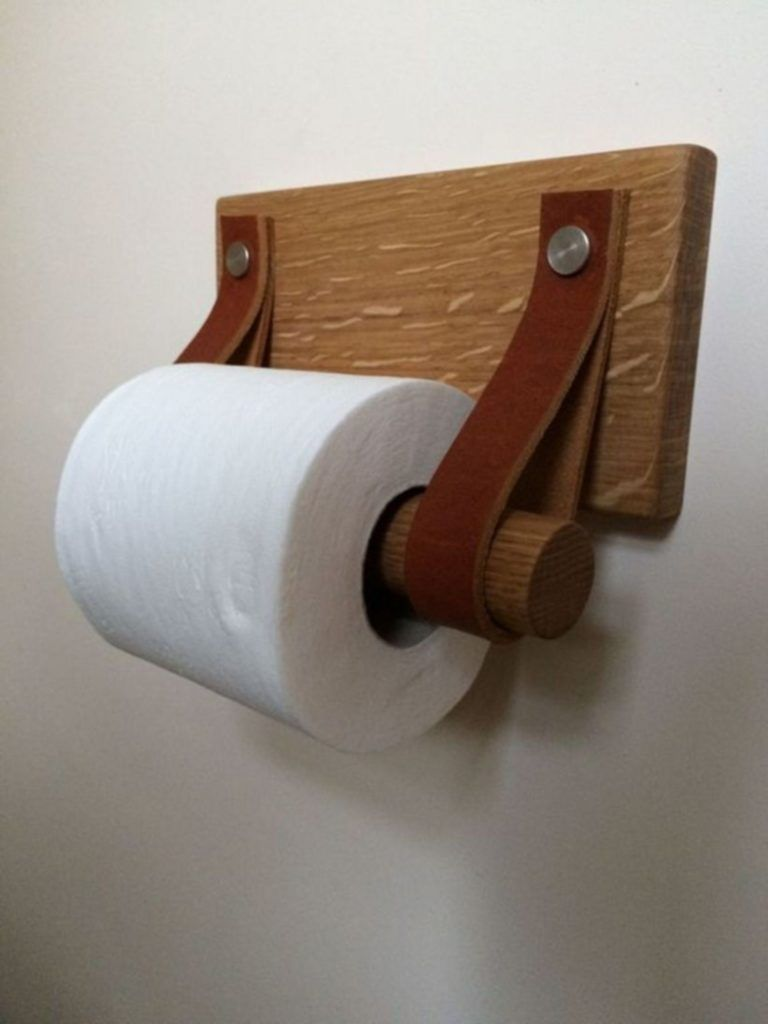 10 Creative And Easy Diy Toilet Paper Holder Ideas For Your Bathroom Decoratio Rustic Toilet Paper Holders Diy Toilet Paper Holder Wooden Toilet Paper Holder