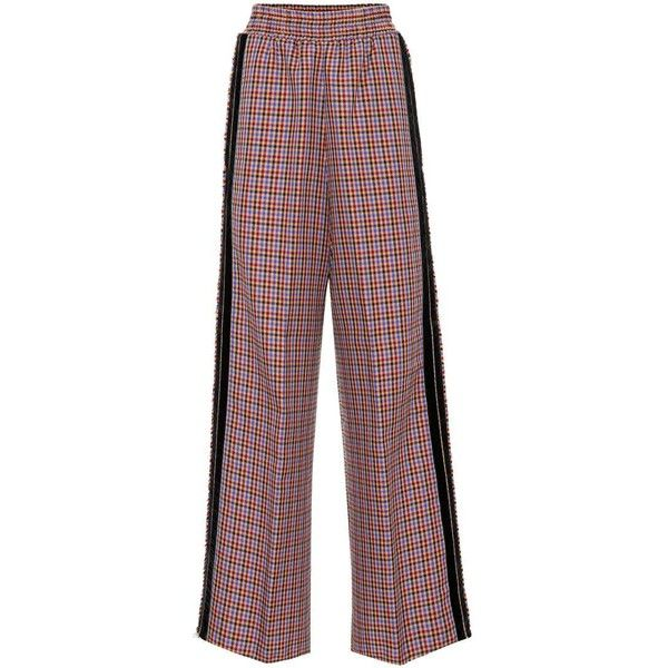 Golden Goose Deluxe Brand checked wide-leg trousers Outlet 2018 Cheap Many Kinds Of Enjoy Shopping uuZStZ