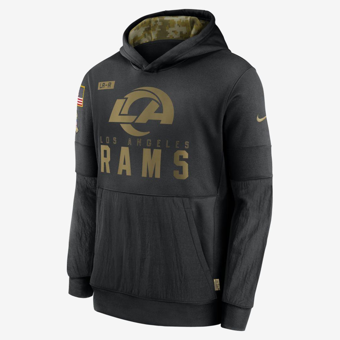 Nike Therma Salute To Service Nfl Los Angeles Rams Big Kids Hoodie Nike Com Hoodies Men Salute To Service Hoodies [ 1080 x 1080 Pixel ]