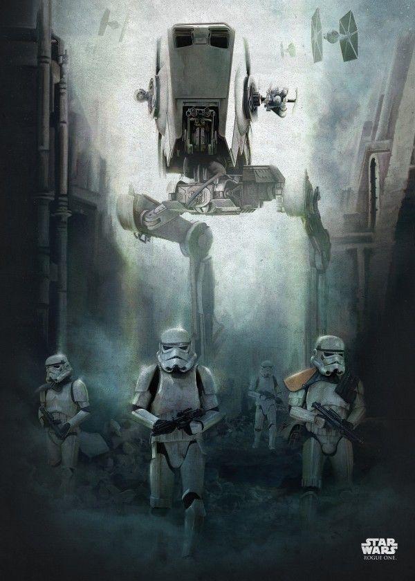 Official Star Wars Battle Of Scarif At St Stormtroopers Displate Artwork By Artist Star Wars Part Of An Star Wars Poster Star Wars Pictures Star Wars Art