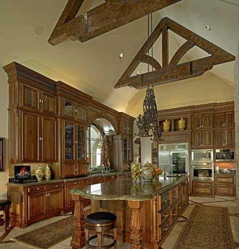 Italian Renaissance Kitchen Designed By Tracy Rasor, Dallas Design Group  Interiors, And Built By